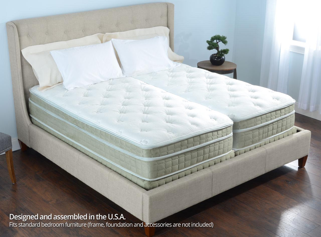 13 personal comfort a8 bed vs number bed i8 split cal for Sleep by number mattress
