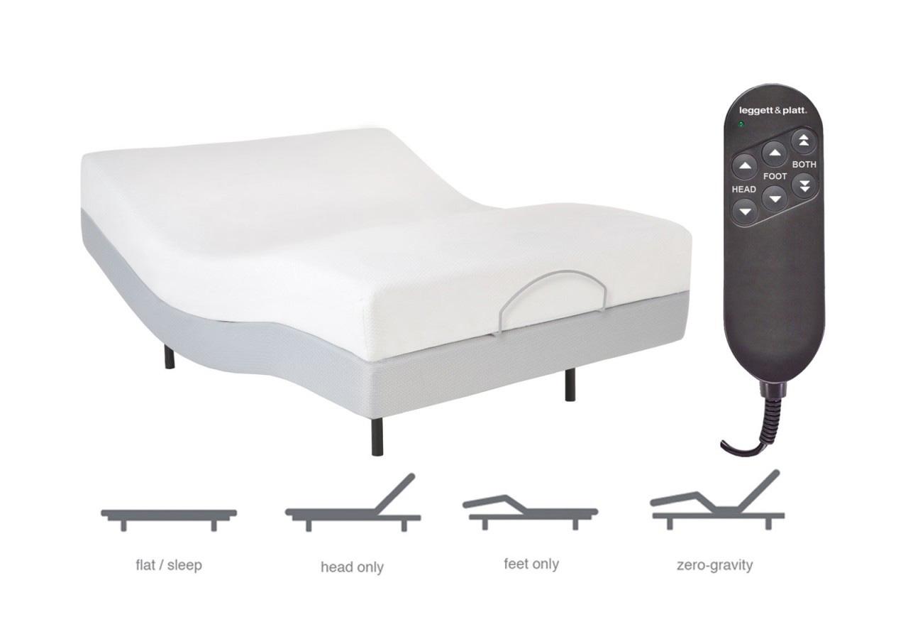 Adjustable Bed Base Leggett Platt : Leggett platt pro motion adjustable bed base