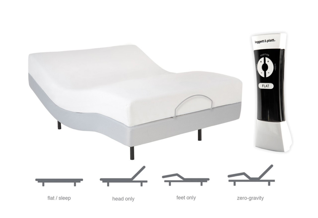 Adjustable Bed Base Full : Leggett platt signature adjustable base basic