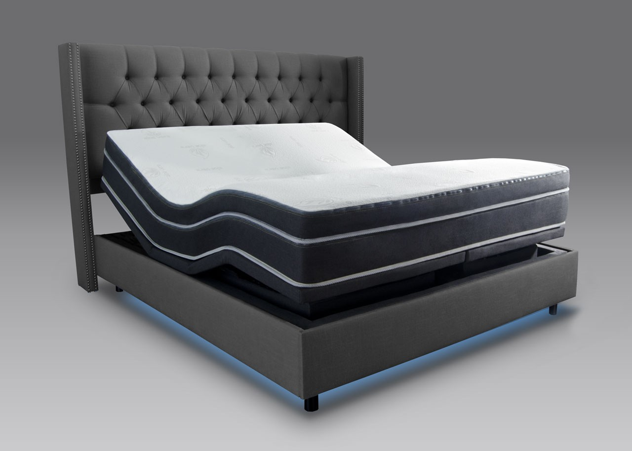 Save 50% on Adjustable Bed Base Number Bed Mattress bo