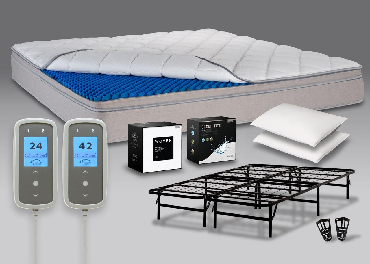 Save 60 over sleep number p5 bed set with personal comfort for Sleep number mattress prices