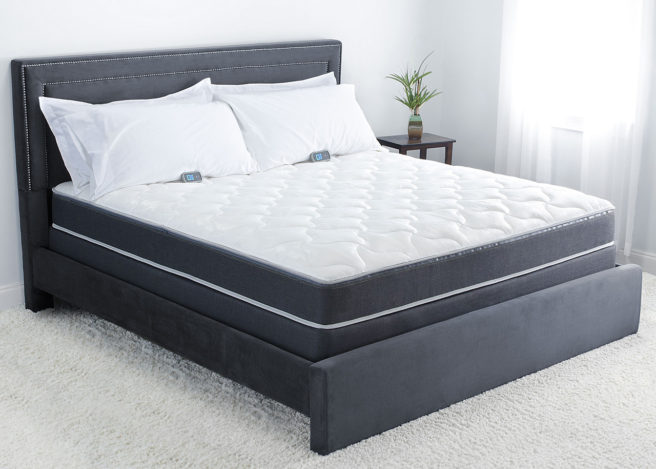 Sleep number c4 bed compared to personal comfort a4 number bed for Sleep by number mattress