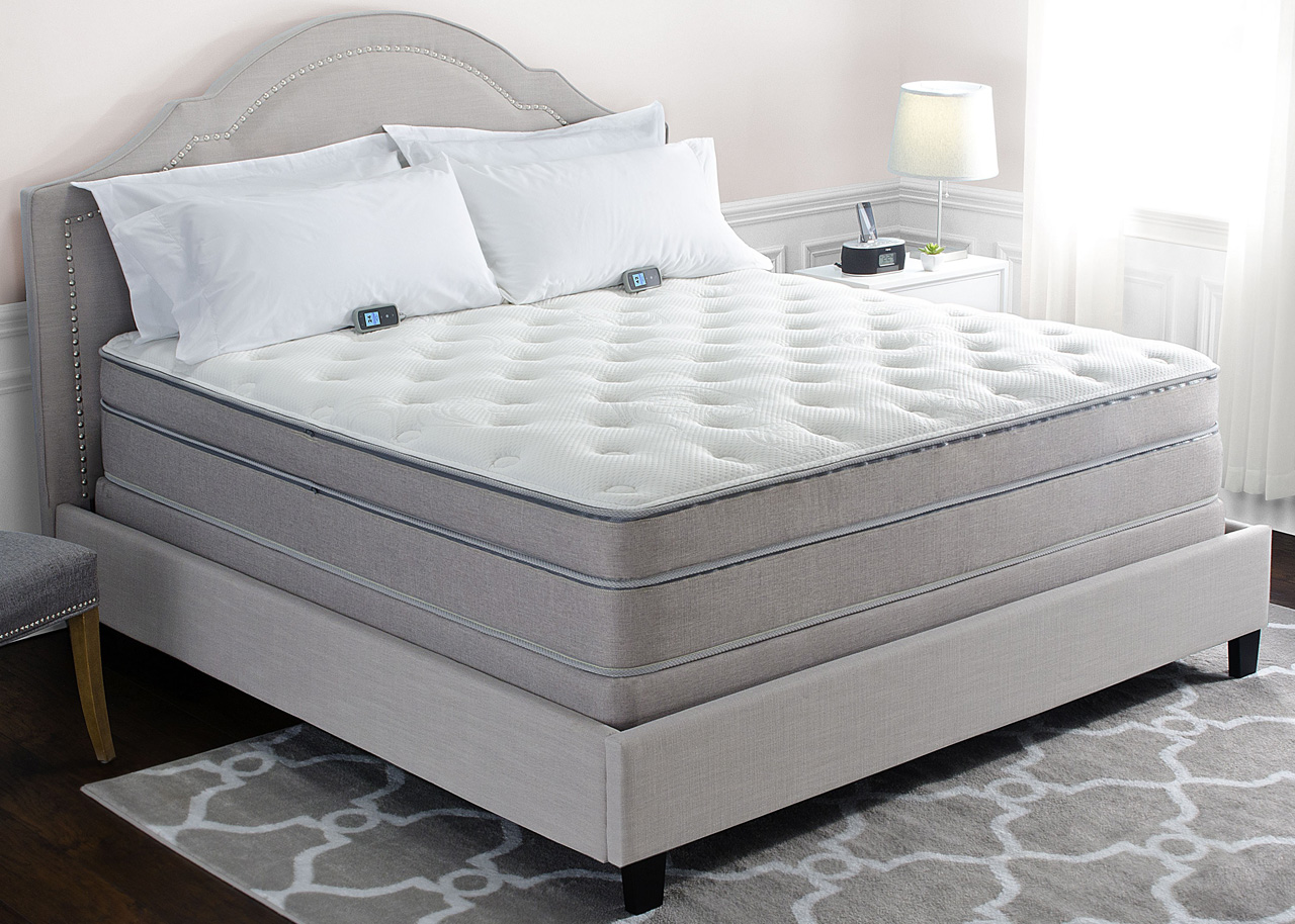 Sleep number i10 bed compared to personal comfort a10 for Sleep by number mattress