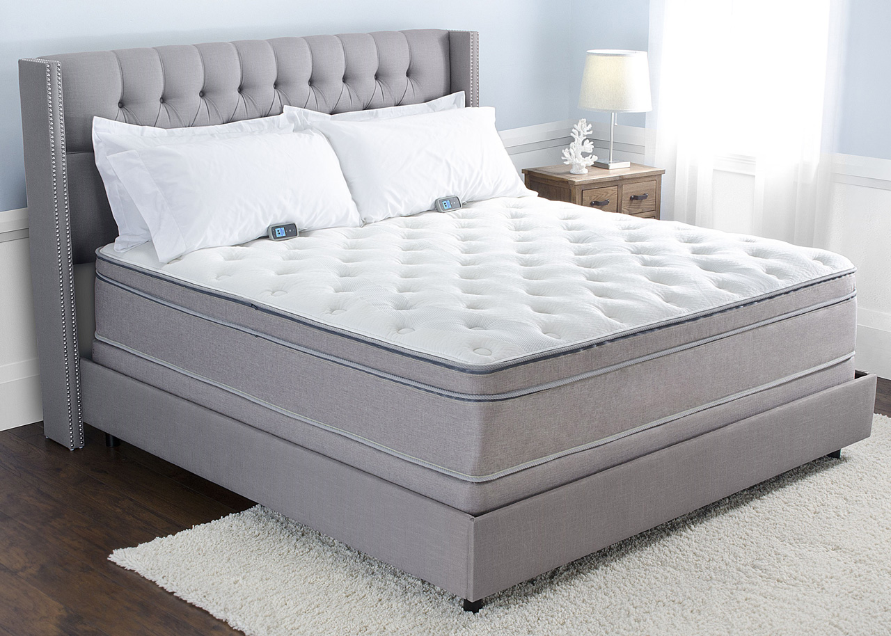 Sleep Number iLE Bed compared to Personal Comfort A7 ...