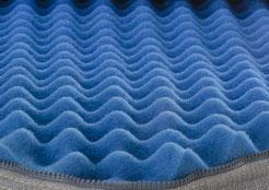 convoluted comfort foam