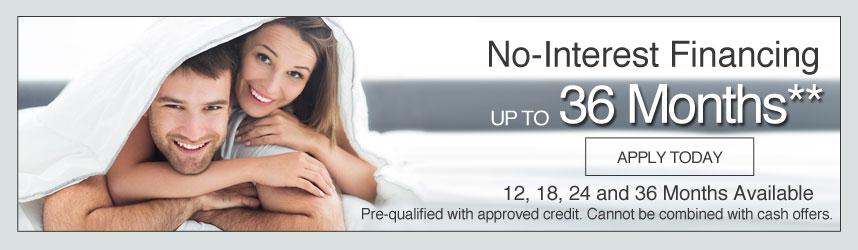 number bed financing offer