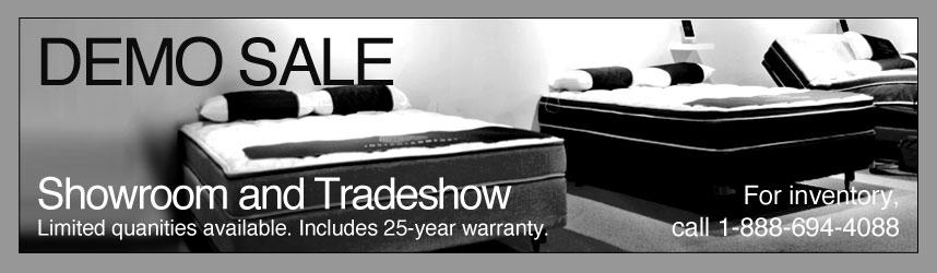 number bed demo inventory sale