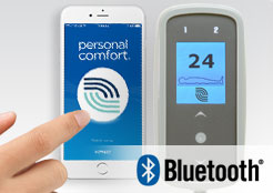 touchscreen remotes with bluetooth